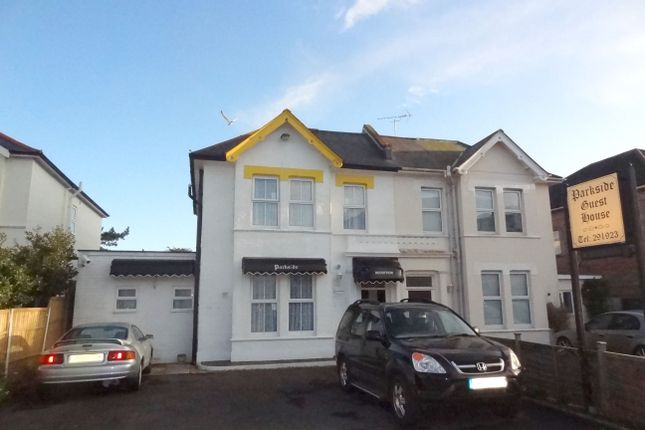 Thumbnail Semi-detached house for sale in Southcote Road, Bournemouth