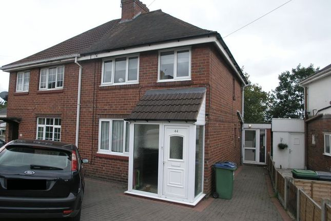Thumbnail Semi-detached house for sale in Walton Road, Oldbury