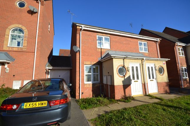 Thumbnail Semi-detached house to rent in Home Avenue, Thorpe Astley, Braunstone, Leicester