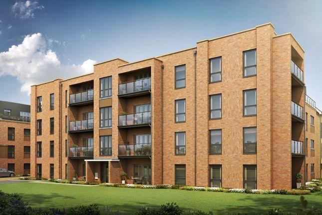"Thumbnail Flat for sale in ""Wigan House"" at Hackbridge Road, Wallington"