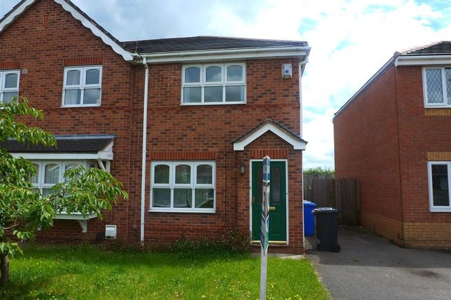 Thumbnail Semi-detached house to rent in Dewchurch Drive, Sunnyhill, Derby