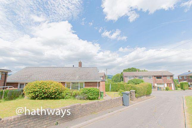 Thumbnail Detached bungalow for sale in Blodwen Way, New Inn, Pontypool