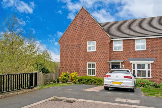 Thumbnail Semi-detached house for sale in Water Reed Grove, Bloxwich, Walsall
