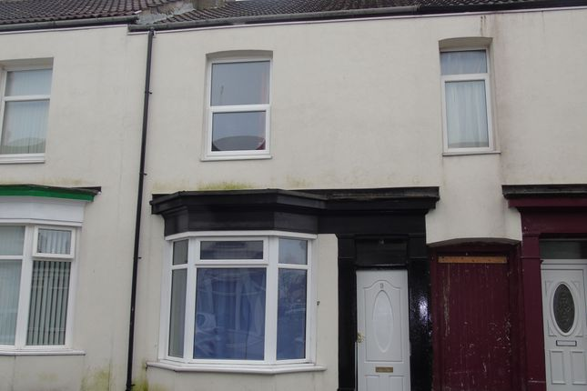 Thumbnail Terraced house to rent in Grove Street, Stockton-On-Tees