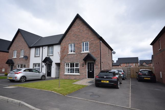 Thumbnail Town house for sale in Drumford Meadow, Portadown
