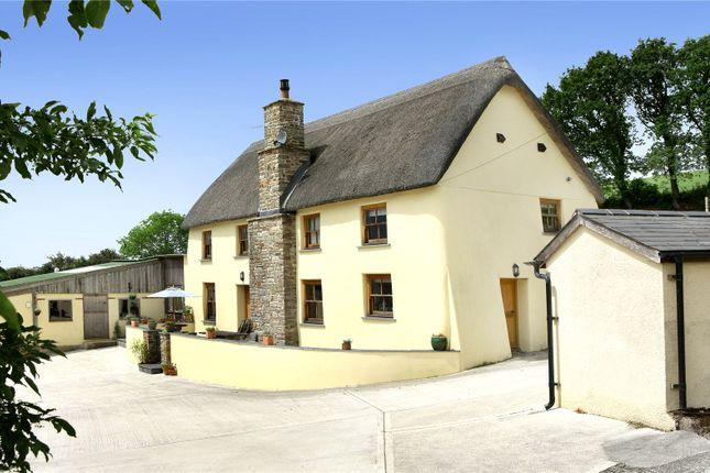 Thumbnail Detached house for sale in Burrington, Umberleigh, Devon