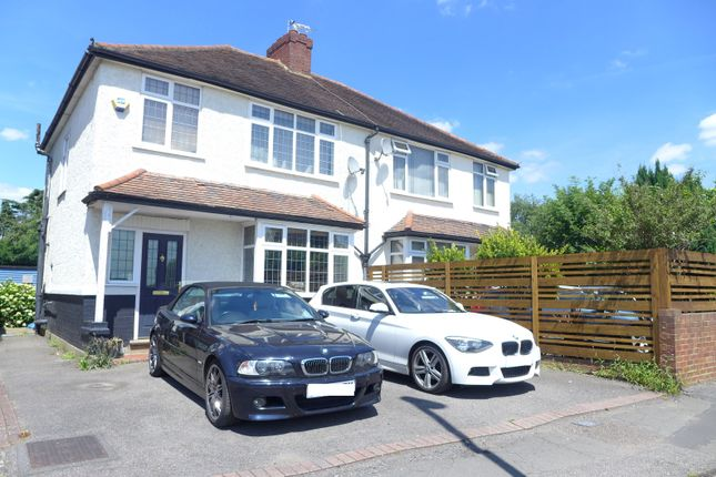 Thumbnail Semi-detached house to rent in Walton Road, West Molesey