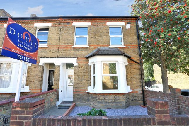 Thumbnail Terraced house to rent in Green Lane, Hanwell