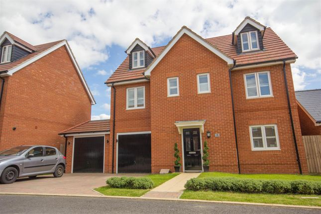 Thumbnail Detached house for sale in Freyberg Drive, Berryfields, Aylesbury