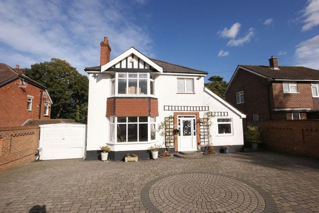 Thumbnail Detached house for sale in Gudge Heath Lane, Fareham