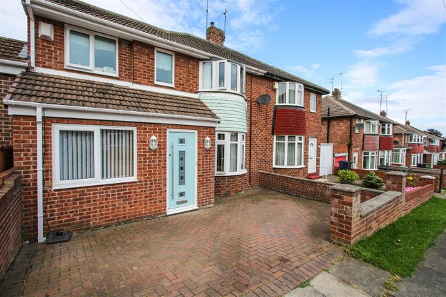 Thumbnail 3 bed semi-detached house for sale in Torver Crescent, Sunderland