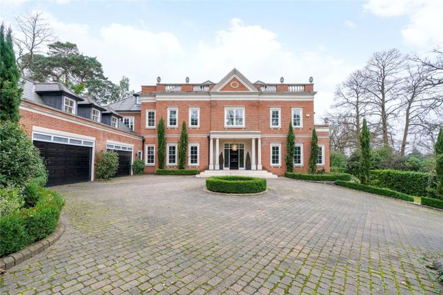 Thumbnail Detached house for sale in Yaffle Road, St. George's Hill, Weybridge, Surrey
