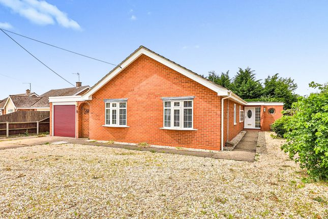 Thumbnail Detached bungalow for sale in Chantry Lane, Necton, Swaffham