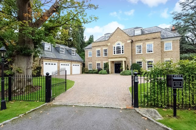 Thumbnail Detached house to rent in Devenish Road, Sunningdale, Ascot
