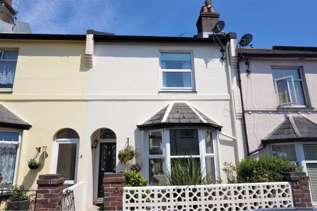 Thumbnail Terraced house for sale in Willicombe Road, Paignton