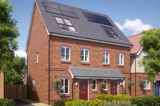 Thumbnail Semi-detached house for sale in Stamford, Blackberry Lane, Brinnington, Stockport, Greater Manchester