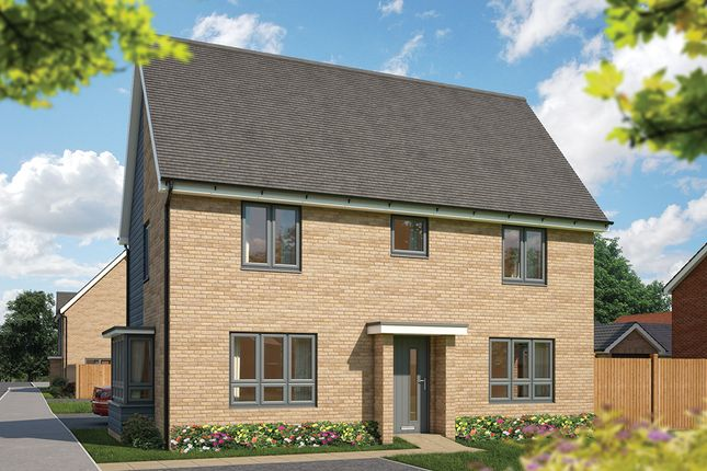 "Thumbnail Detached house for sale in ""The Spruce"" at Fields Road, Wootton, Bedford"