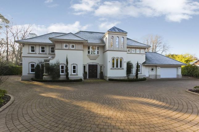 Thumbnail Detached house to rent in Spring Woods, Virginia Water