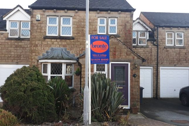 Thumbnail Link-detached house for sale in Pendle Court, Queensbury, Bradford