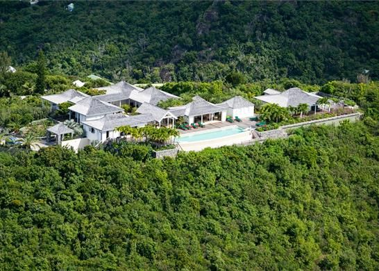 Thumbnail Town house for sale in Colombier, Saint-Barthélemy
