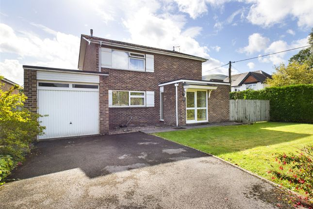 Thumbnail Detached house for sale in Belgrave Close, Abergavenny, Monmouthshire