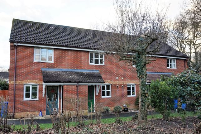 Thumbnail Terraced house for sale in Bechin Close, Fleet