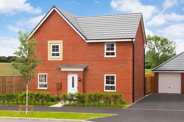 "Thumbnail Detached house for sale in ""Alderney"" at Newton Lane, Wigston"