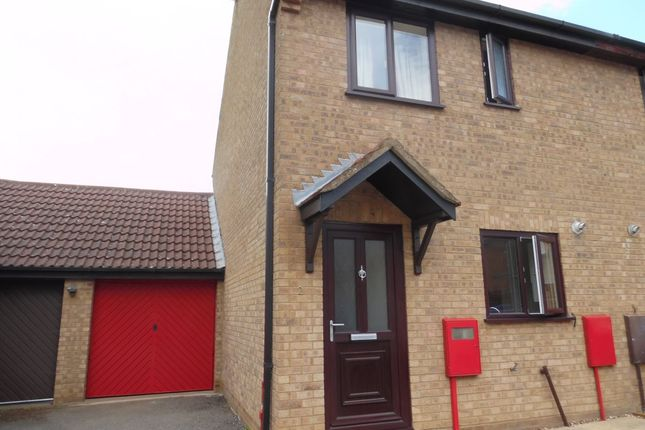 Thumbnail Semi-detached house to rent in Shatterstone, Wootton, Northampton