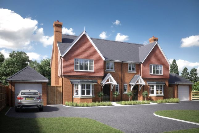 3 bed semi-detached house for sale in Mayfield, Sydmonton Road, Old Burghclere, Newbury, Hampshire RG20