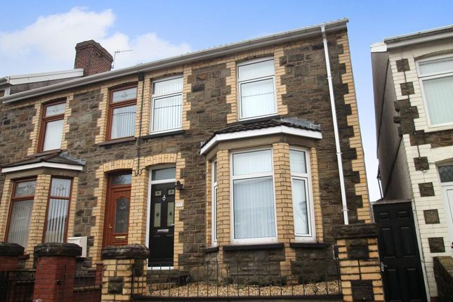 Thumbnail End terrace house for sale in Grosvenor Road, Abertillery, Blaenau Gwent
