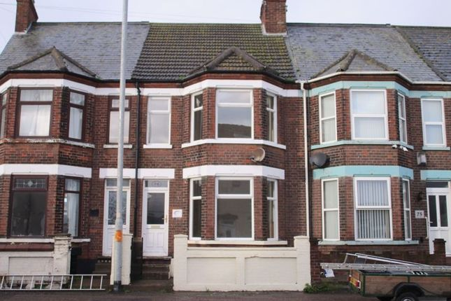 Thumbnail Terraced house to rent in North Quay, Great Yarmouth