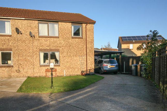 Thumbnail Semi-detached house for sale in Cedar Road, Rendlesham, Woodbridge