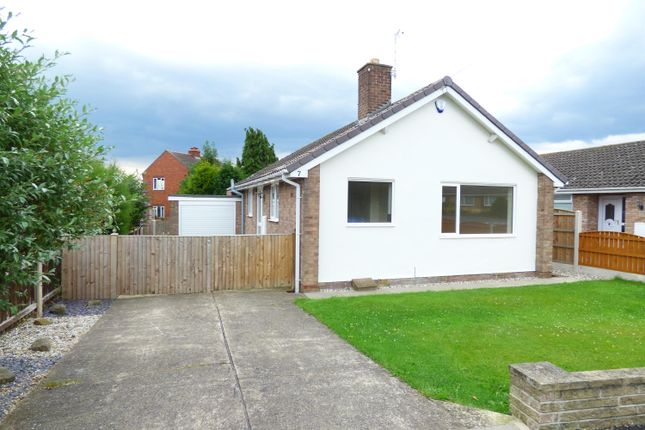 Thumbnail Detached bungalow to rent in Hallgarth Road, Thorpe Audlin, Pontefract
