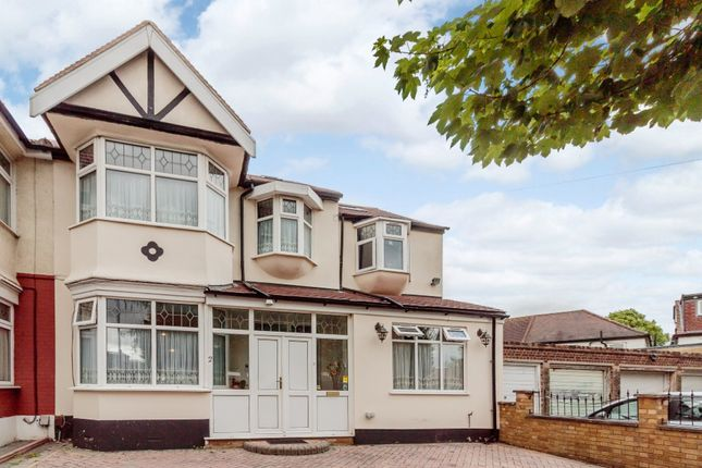 Thumbnail End terrace house for sale in Queenborough Gardens, Ilford, London