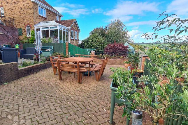 Rear Garden of Almond Drive, Plympton, Plymouth PL7