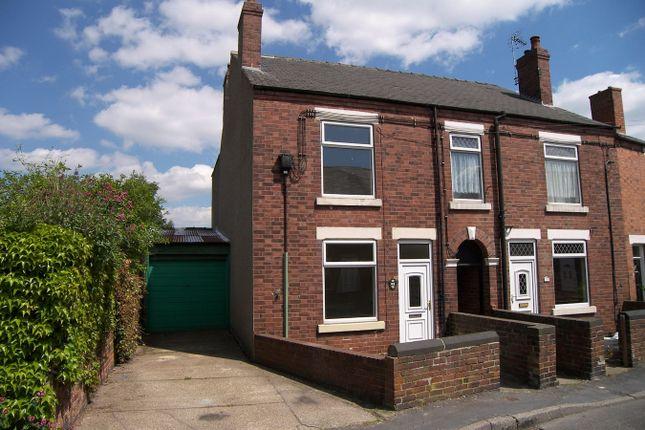Semi-detached house in  Queen Street  Somercotes  Alfreton  Derbyshire D Hackney