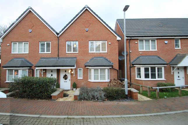 Semi-detached house for sale in Herne Close, Bushey