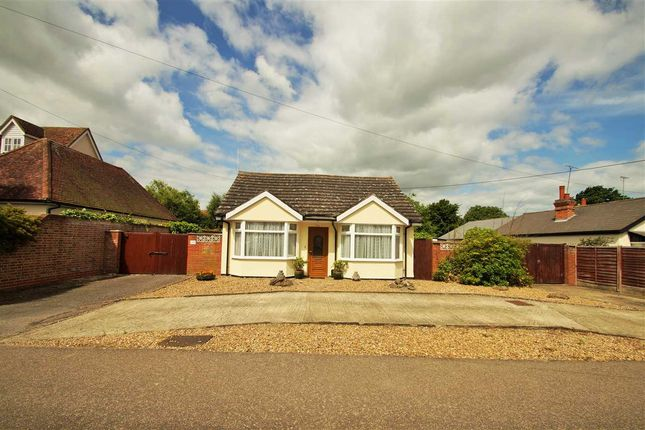 Thumbnail Bungalow for sale in North Lane, Marks Tey, Colchester