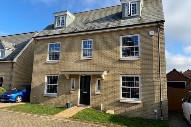 Thumbnail Detached house for sale in Greenhaze Lane, Great Cambourne, Cambridge
