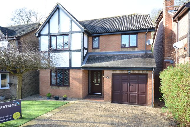 Thumbnail Detached house to rent in Anthony Wall, Warfield, Bracknell