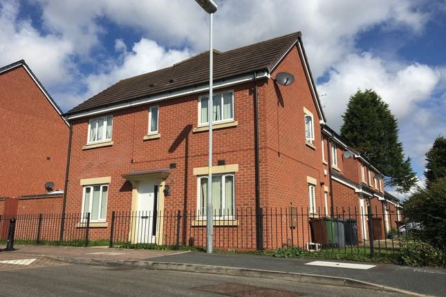 Thumbnail Detached house to rent in Greenock Crescent, Monmore Grange, Wolverhampton