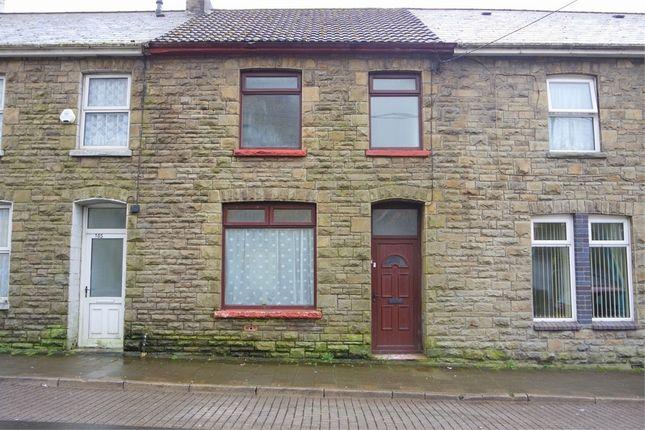 Thumbnail Terraced house to rent in Caerau Road, Caerau, Maesteg, Mid Glamorgan