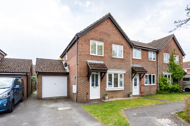 Thumbnail End terrace house for sale in Pennycress, Locks Heath