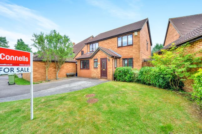 Thumbnail Detached house for sale in Minerva Gardens, Wavendon Gate, Milton Keynes