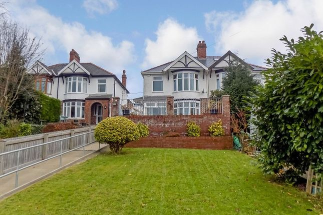 Thumbnail Semi-detached house for sale in Woodcroft, Cromwell Avenue, Rhyddings, Neath, Neath Port Talbot.