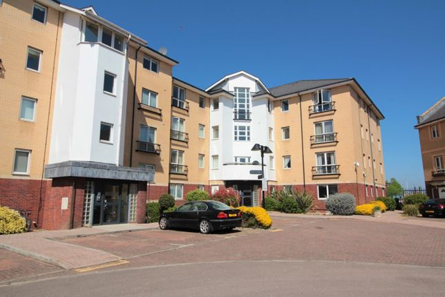 Thumbnail Flat for sale in Adventurers Quay, Cardiff Bay