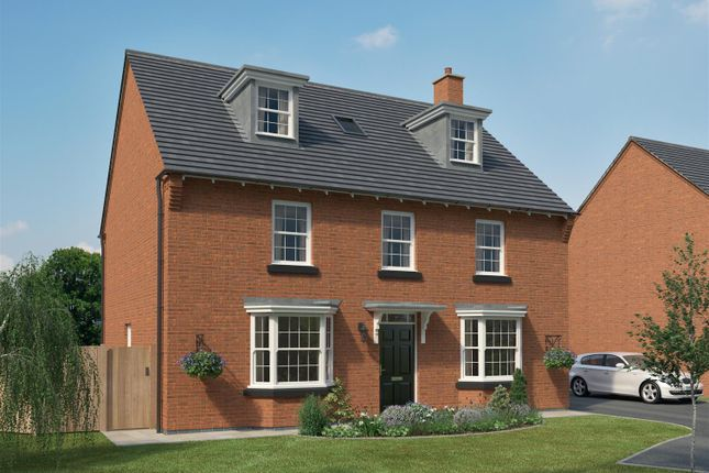 Thumbnail Detached house for sale in Doseley Park Development, St. Lukes Road, Doseley, Telford