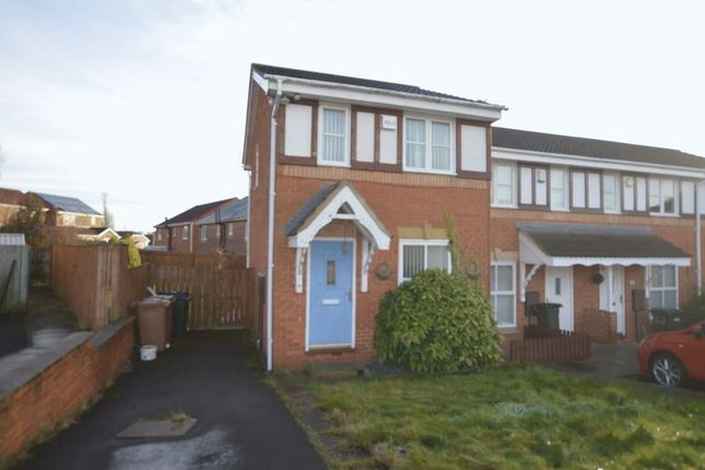End terrace house for sale in Redewood Close, Slatyford, Newcastle Upon Tyne