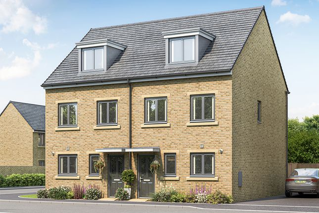 """3 bed property for sale in """"The Bamburgh"""" at New Hey Road, Brighouse HD6"""