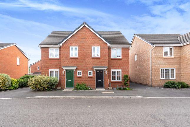 Thumbnail Semi-detached house for sale in Clos Honddu, Bettws, Newport